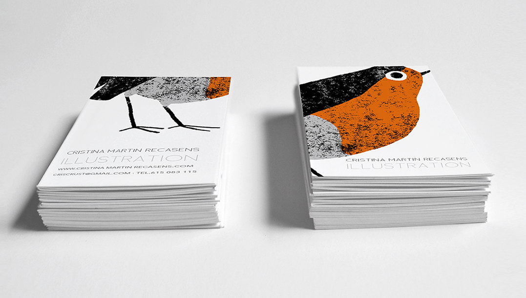 Cristina Martin Illustration - Business card