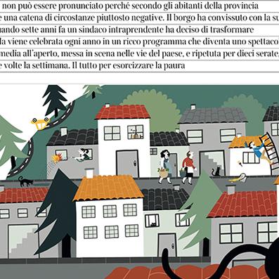 Ilustración para prensa